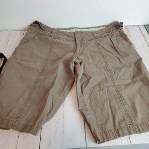 NIKE Men's Khaki Bermuda Brown Shorts